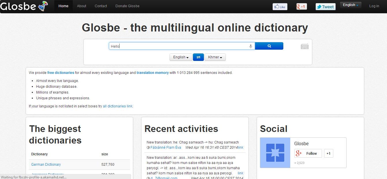 translate english to khmer dictionary